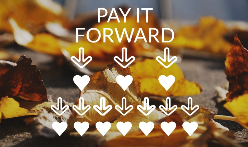 Pay it Forward Graphic